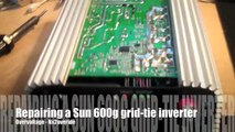 How to repair for 300w power jack grid tie inverter - video