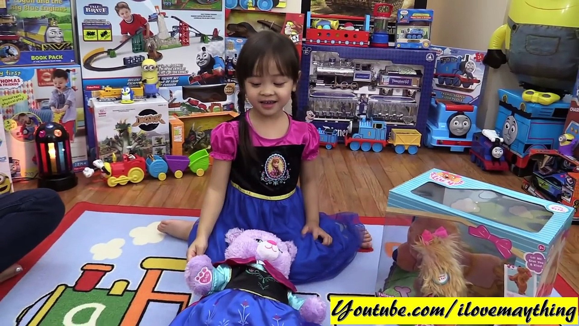 Animal Toy Pet for Little Girls: Club Petz Interive Dog LUCY Unboxing and Playtime Fun