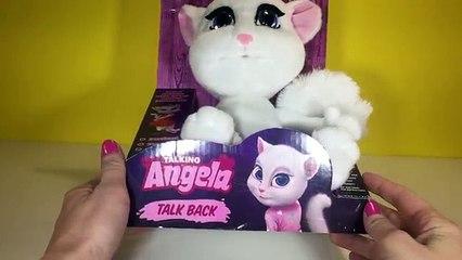 Talking Angela Talk Back Stuffed Animal Plushie Chat Doll