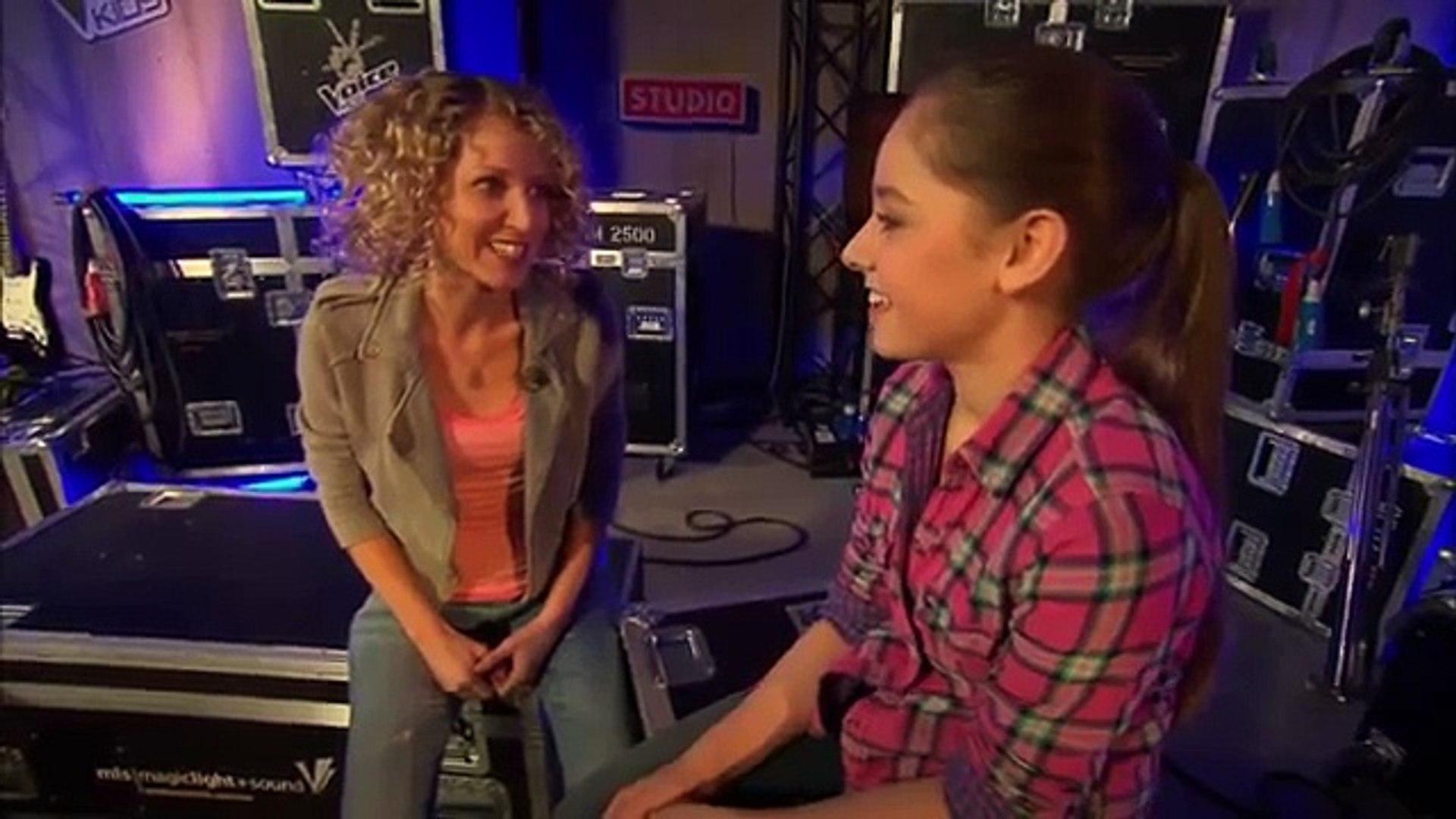 Lena Meyer Landrut Satellite Olivia The Voice Kids New Blind Audition Sat 1 Video Dailymotion
