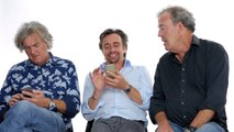 Jeremy Clarkson, Richard Hammond & James May Show Us the Last Thing on Their Phones | WIRE