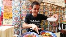Street Food in Japan Tour of Ameya Yokocho Market | Budget Japanese Food and Spicy Kebab!