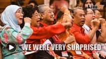 Dr Mahathir: We were very surprised we won