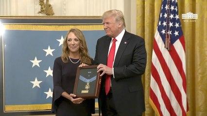 President Trump: The Medal Of Honor For John Chapman