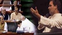 Rahul Gandhi reveals the reason to Hug PM Modi | Oneindia News