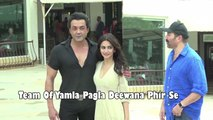 Team Of Yamla Pagla Deewana Phir Se On Promotion Spree At Suburban Hotel