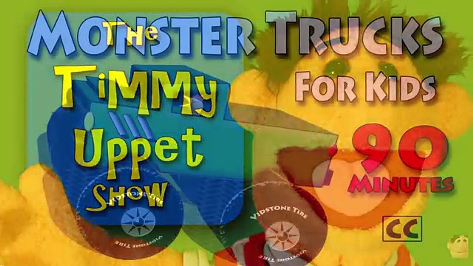 Vids4kids.tv Monster Trucks For Kids Movie Trailer