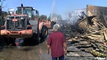 Şanlıurfa'da Yangın Sonrası Hasar Tespiti Çalışmaları Başlatıldı