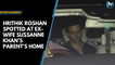 Watch: Hrithik Roshan spotted at ex-wife Sussanne Khan's parent's Eid party