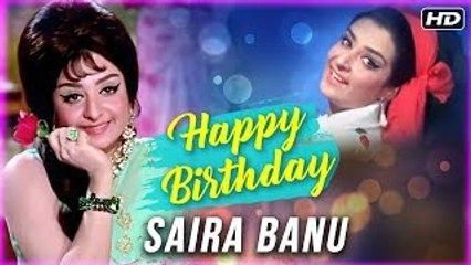 Happy Birthday Saira Banu | Best Scenes Of Saira Banu | Padosan Hindi Movie
