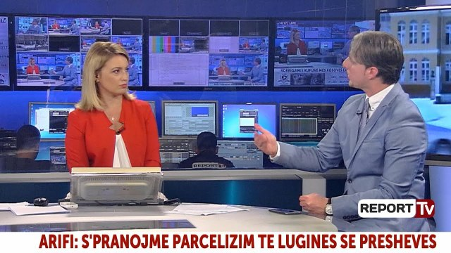 Arifi në Report TV: Shqipëria të mos bëjë propagandë por të investojë në Luginën e Preshevës