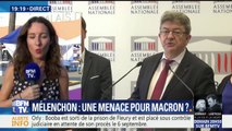 Jean-Luc Mélenchon se pose comme principal opposant à Emmanuel Macron