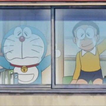 Doraemon (2005) - Adeus desde a ventá
