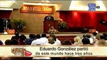 """❤ Jamás olvidaremos su frase: """"¡Esto ya es historia!""""VIDEO: Con estas hermosa imagénes recordamos al expresentador de noticias Eduardo González . ¡Siempre en"""