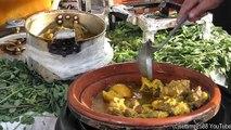 Street Food of Marrakech. Moroccan Tajine, Msemmen and More, Jemaa el Fna