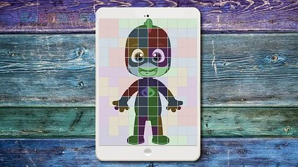 PJ Masks Puzzle Tetris Game for Childrens