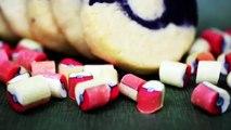DIY Pokeball Sugar Cookies Inspired by Candy Labs Handmade Candy // DIY Pokemon Log Sugar