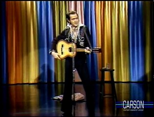 Andy Kaufmans Elvis Presley Impression on Johnny Carsons Tonight Show, 1977