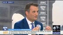"""Affaire Nyssen : """"la ministre de la Culture ne peut pas rester"""" estime Florian Philippot"""