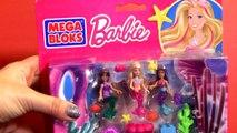 MegaBloks Barbie Mermaids Party La Fiesta de Muñecas Sirenas La fête des sirènes Building