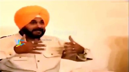 Navjot Singh Sidhu loss his temper to Indian media About meeting Pakistan army chief