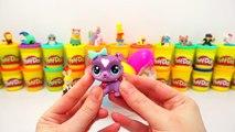 Rengarenk Gökkuşağı Dev Sürpriz Yumurta Oyun Hamuru ; Cicibiciler Tsum Tsum Minişler My Li