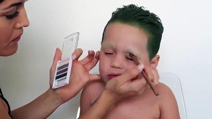 SUICIDE SQUAD: Joker Makeup Tutorial