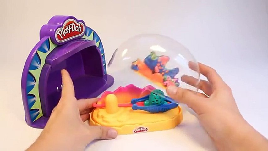 Play Doh Make N Display Stage Show Aquarium Hasbro Toys How To make Playdough Fish Plasti