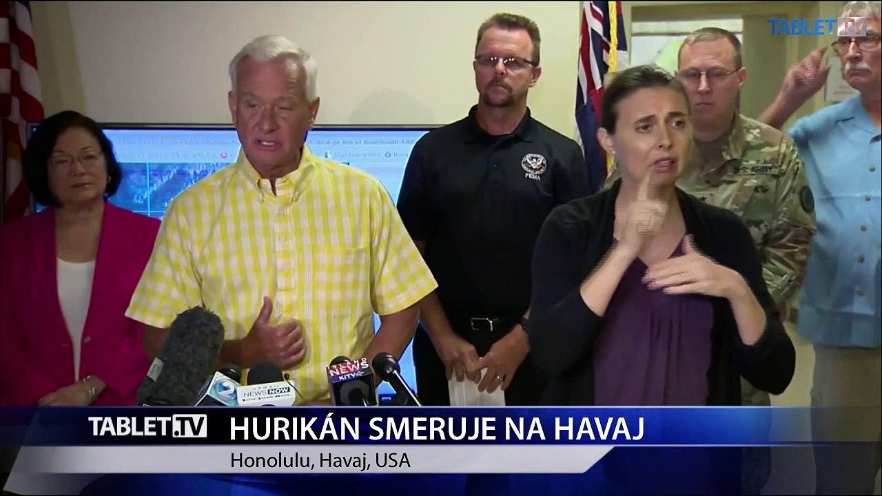 Hurikán Lane spôsobil na Havaji záplavy a zosuvy pôdy