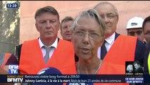 """Après le drame à Gênes, la ministre des Transports assure que """"nos ouvrages sont très surveillés"""""""