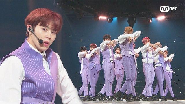 KCON 2018 LA×M COUNTDOWN 워너원(Wanna One) - INTRO + 켜줘(Light)