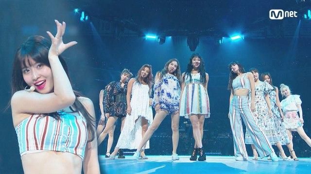 KCON 2018 LA×M COUNTDOWN 트와이스(TWICE) - INTRO + Dance The Night Away