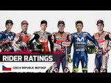 Rider Ratings Czech Republic MotoGP