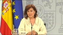 """El Gobierno aprueba el decreto ley para la exhumación """"urgente"""" de los restos de Franco"""