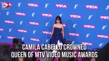 Camilla Cabello crowned queen of mtv video music awards