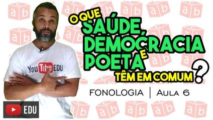 ENCONTROS VOCÁLICOS | Português | Fonologia | Aula 6