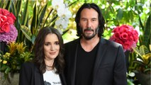 Winona Ryder And Keanu Reeves In Love