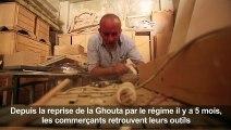 Syrie: les menuisiers de la Ghouta dépoussièrent leurs ateliers