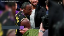 LeBron James Calls Out New Lakers Teammate