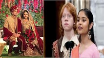 Harry Potter actress Afshan Azad, who played Padma Patil gets married to fiance Nabil Kazi|FilmiBeat