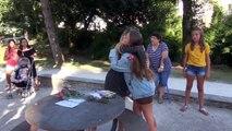 En Vacances En Creuse, Gloria Des Kids United Improvise Une Rencontre Avec Ses Fans A Limoges !!!!