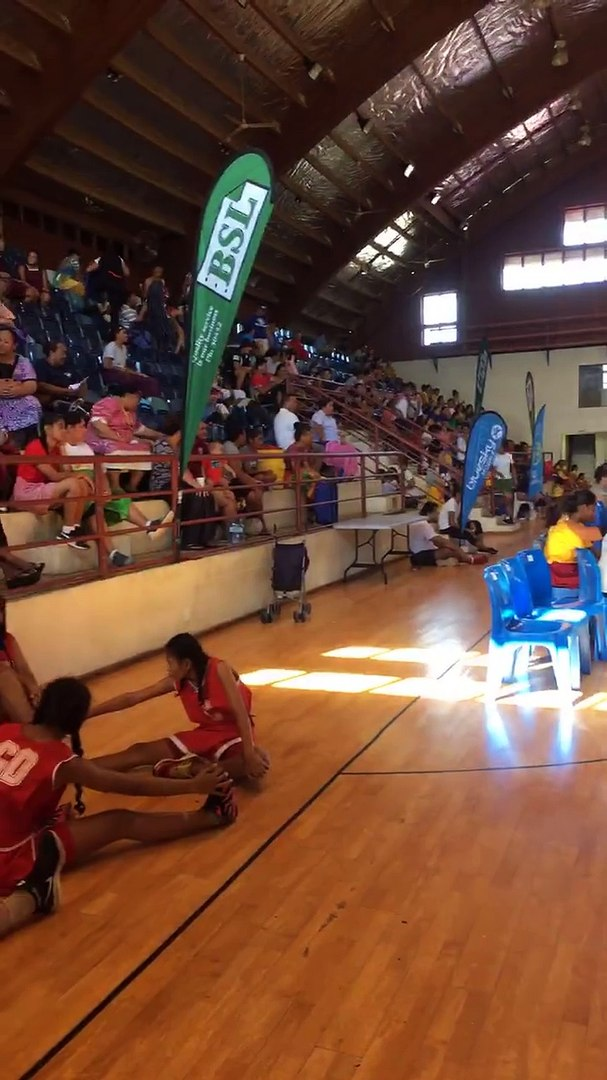 Champ of Champs has started!! #Netball #EmpoweringGirls #BeautifulSamoa
