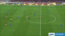 Vladimir Rykov scores from the middle of the pitch - Spartak Moscow 2-[1] Dinamo Moscow