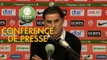 Conférence de presse AS Nancy Lorraine - Chamois Niortais (0-1) : Didier THOLOT (ASNL) - Patrice LAIR (CNFC) - 2018/2019