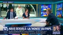 """Abus sexuels: le Pape évoque sa """"honte"""" (3/3)"""