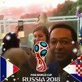 الألعاب النارية في موسكو بعد المباراة النهائية في كأس العالمFireworks  after the World Cup final in #Moscow
