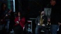 Les musiciens et choristes d'Alpha Blondy avant le concert