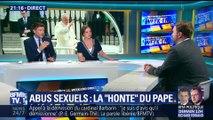 """Abus sexuels: le Pape évoque sa """"honte"""" (1/3)"""