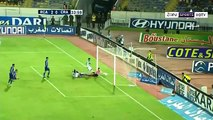 ملخص-اهداف مباراة الرجاء الرياضي وشباب الريف الحسيمي 6-0 الدوري المغربي RCA vs CRA 6-0