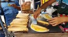 Thai Egg Crepe Cooking Street Food Thailand Amazing By Street Foodies